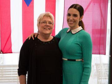 Profesora de Harvard con su alumna
