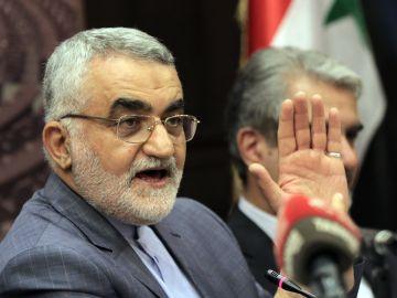 El presidente de la Comisión de Seguridad Nacional y Política Exterior del Parlamento iraní, Alaeddin Boroujerdi