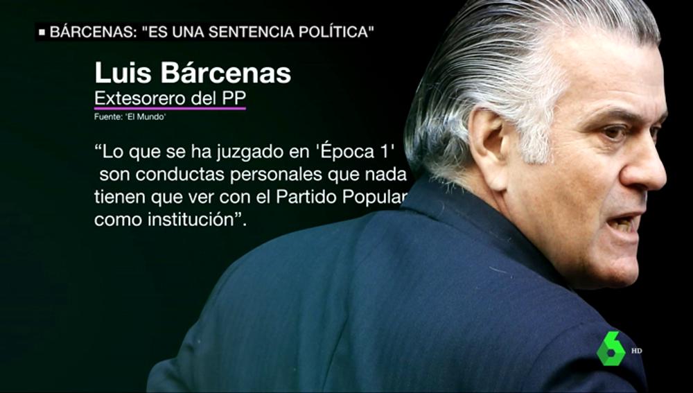 """Luis Bárcenas, antes de volver a entrar en prisión: """"Es una sentencia política"""""""