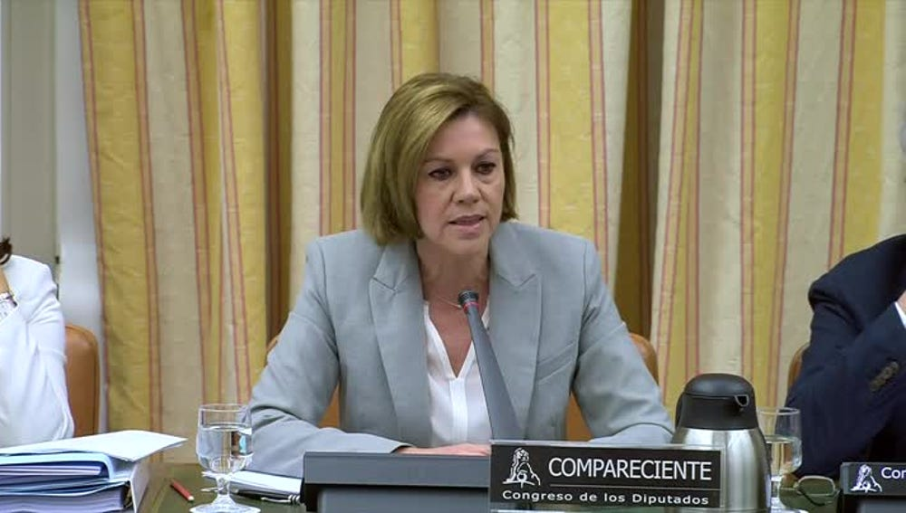 Cospedal comparece en la comisión de investigación del Congreso