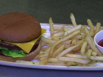 La nueva revolución culinaria en EEUU: Una hamburguesa de carne, sin carne