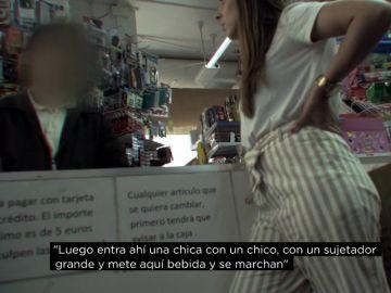 """<p>Así roban en los comercios del barrio: """"Entraban niños todos los días a buscar disolvente""""</p>"""