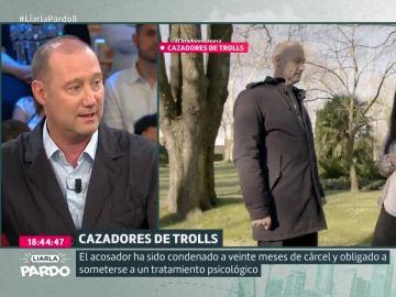 Pedro García Aguado, en Liarla Pardo