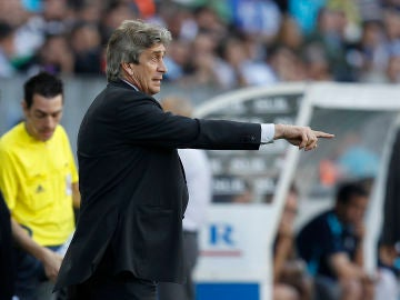 Pellegrini, en su etapa en el Real Madrid