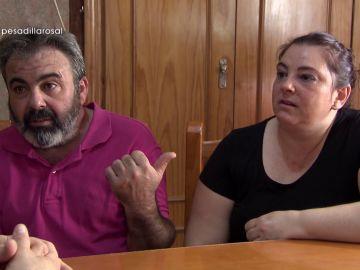 Mari Carmen y Pedro en Pesadilla en la cocina: El Rosal
