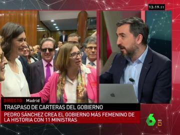 """<p>Ignacio Escolar: """"No es un Gobierno para un ratito. Sánchez ha hecho un enorme cartel electoral para ganar las elecciones""""</p>"""