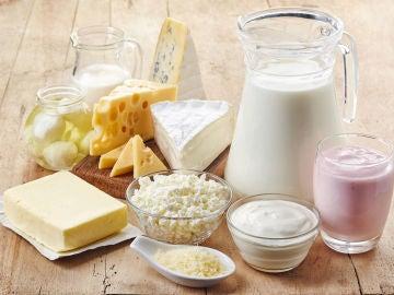Imagen de archivo de lácteos