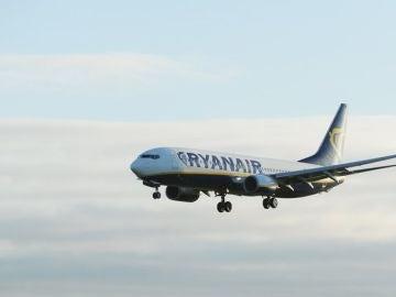Un avión de Ryanair