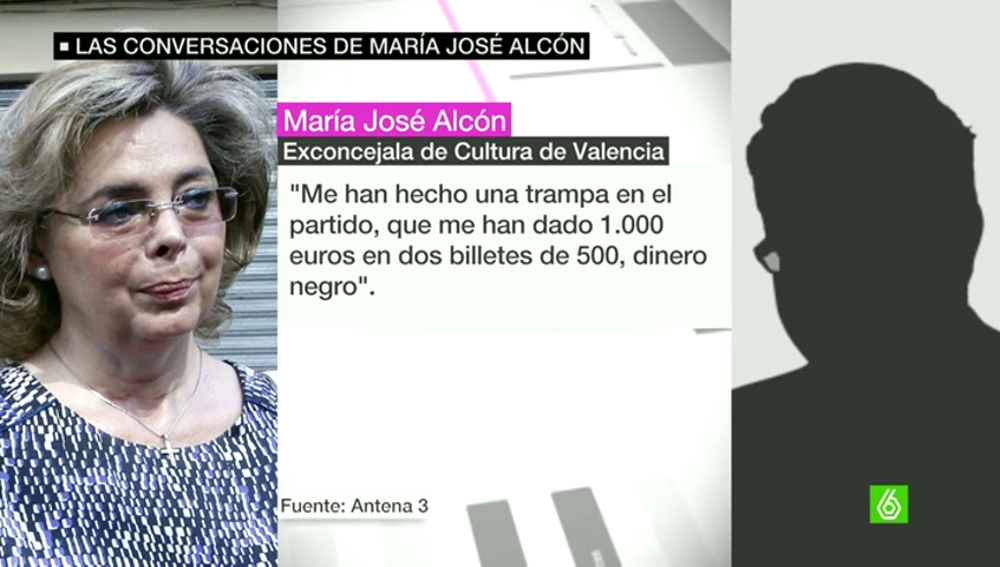 María José Alcón, exconcejala del PP en el Ayuntamiento de Valencia