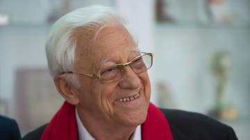 El presidente de la Ong Mensajeros de la Paz, el Padre Ángel García