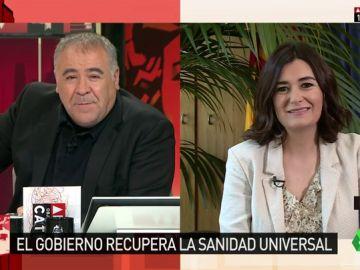 """Carmen Montón explica en ARV sus objetivos en Sanidad: """"Una sociedad decente no deja a nadie atrás"""""""