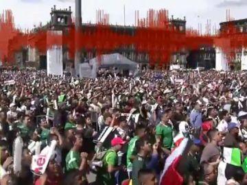 Se detectó un pequeño seísmo en México con el gol de Lozano