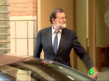 Imagen de Mariano Rajoy en Santa Pola