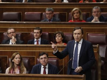 El portavoz del PP Rafael Hernando