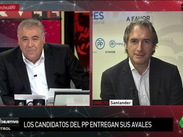 """Íñigo de la Serna habla del futuro del PP: """"Cospedal y Soraya saben que por encima de las personas están los partidos"""""""