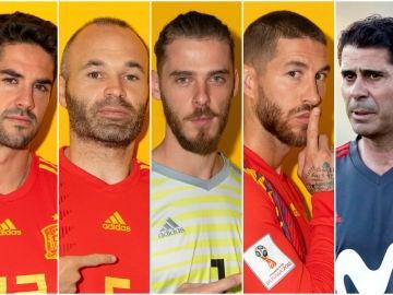 Haz el once de España en el Mundial