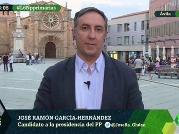 José Ramón García-Hernández, candidato a la Presidencia del PP