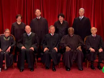 Miembros del Tribunal Supremo de EEUU