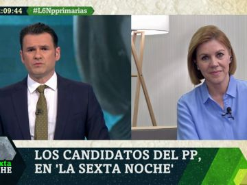 María Dolores de Cospedal, candidata a la Presidencia del PP