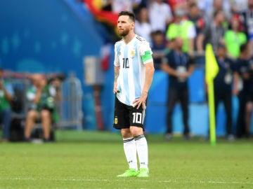 Messi, serio