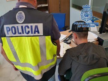 Imagen facilitada por la Policía