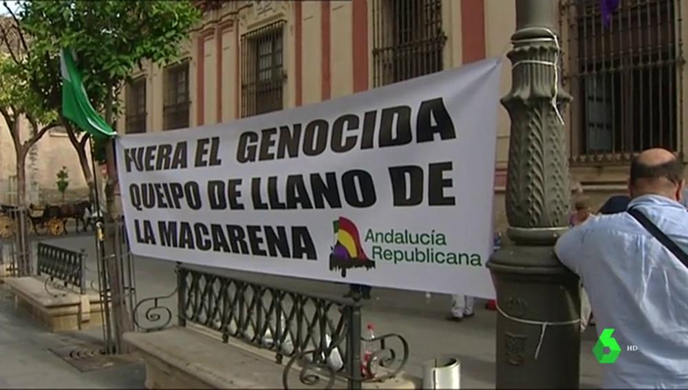 Negociaciones para sacar los restos de Queipo de Llano de La Macarena