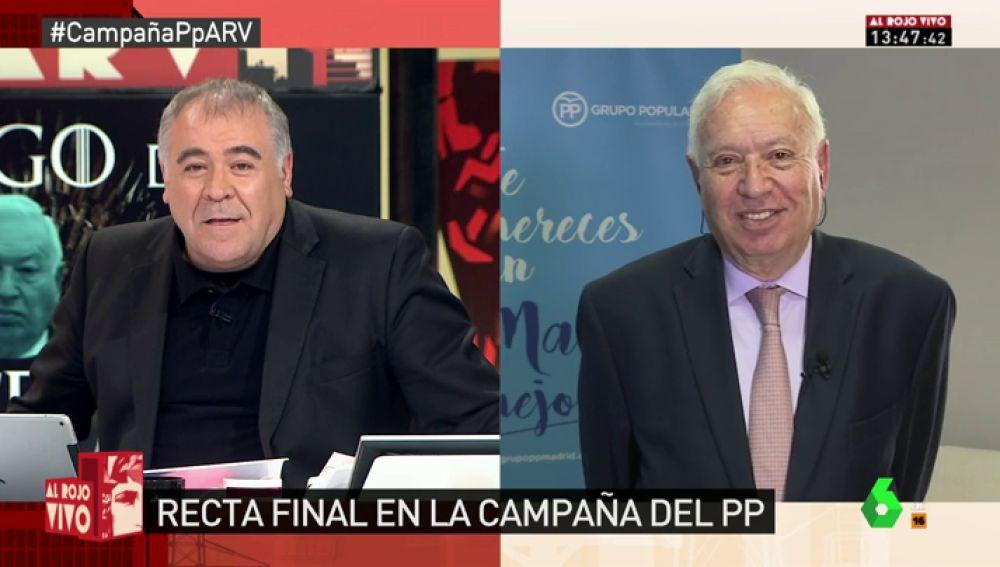Margallo, en Al Rojo Vivo
