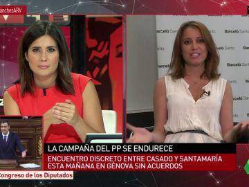 La vicesecretaria del PP Andrea Levy