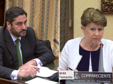 Echániz y Magdalena Álvarez en el Congreso