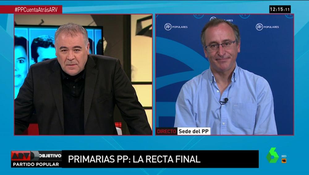 El presidente del PP en el País Vasco, Alfonso Alonso