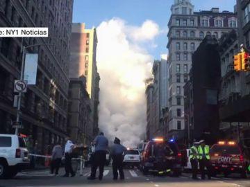Explosión de vapor en Nueva York