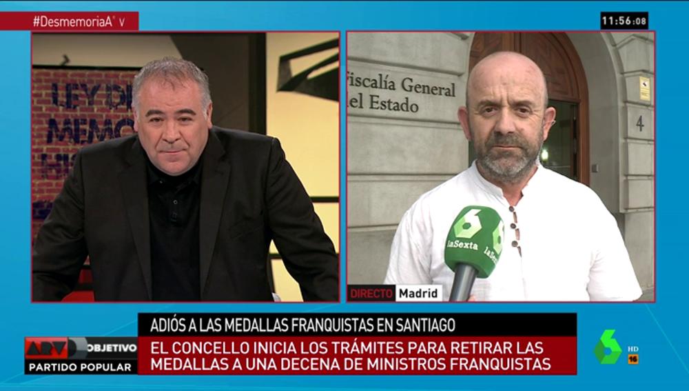 Bonifacio Sánchez, portavoz de la 'ARMH'