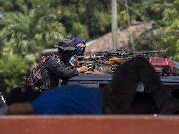 Masaya, Nicaragua, durante la 'Operación Limpieza'