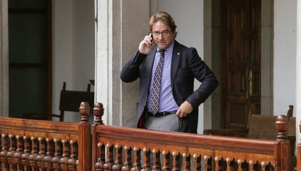 El magistrado de la Audiencia de Las Palmas Salvador Alba.