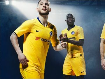 Tercera equipación del Chelsea
