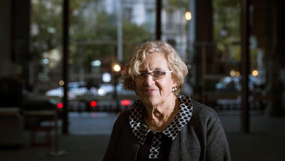 Imagen de archivo de la alcaldesa de Madrid, Manuela Carmena