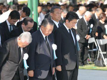 Acto de homenaje en Hiroshima