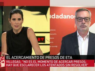 José Manuel Villegas en ARV.