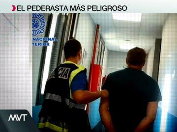 El pederasta más peligroso de España ha sido detenido en Madrid.