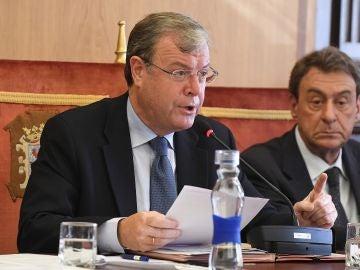 El alcalde de León, Antonio Silván