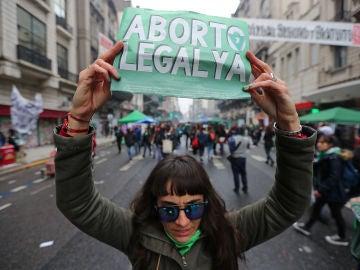 El senado de Argentina decide sobre la legalización del aborto