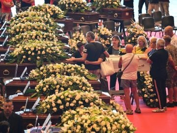 Funeral de Estado por las víctimas del derrumbe del puente de Génova