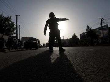 Imagen de archivo de un soldado