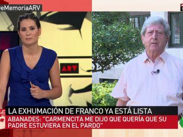 """Gabino Abanades, el hombre que enterró a Franco: """"En menos de una hora se pueden exhumar los restos y cambiarlos a otro féretro"""""""