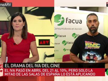 """Sólo un tercio de los cines ha traducido la bajada del IVA al precio de las entradas: """"Han querido tomar el pelo a los espectadores y al Gobierno"""""""