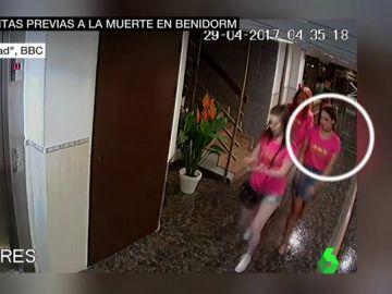 Salen a la luz imágenes relacionadas con la muerte de una turista escocesa en Benidorm: se precipitó al vacío desde el piso de cinco británicos