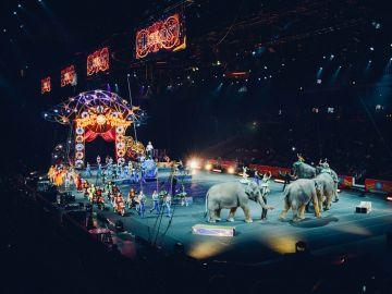 Imagen de archivo de un circo