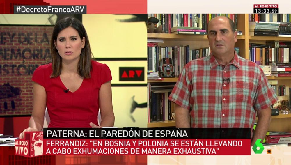"""Francisco Ferrandiz: """"Hay que exhumar a Primo de Rivera y a Franco para desmantelar la jerarquía funeraria del Valle de los Caídos"""""""