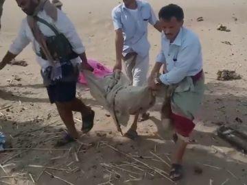 Ataque aéreo a niños en Yemen