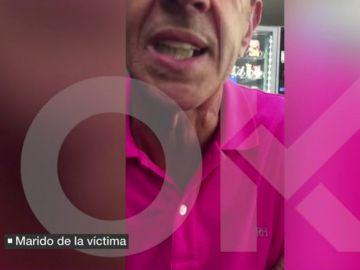 Habla el marido de la mujer agredida por retirar lazos amarillos en Barcelona